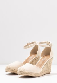 Rubi Shoes by Cotton On - FLORENCE CLOSED TOE  - Hoge hakken - stone - 4