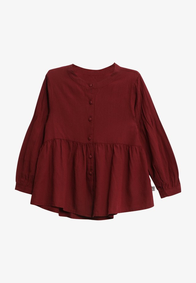 JULIE - Blouse - burgundy