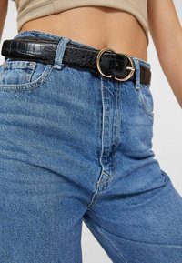 Stradivarius - Belt - black - 1
