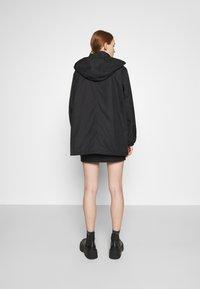 Weekday - BYRON COACH JACKET - Short coat - black - 2