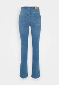 Gina Tricot - MOLLY SLIT  - Jeans slim fit - light mid blue - 1