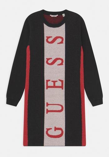 JUNIOR DRESS - Jumper dress - jet black