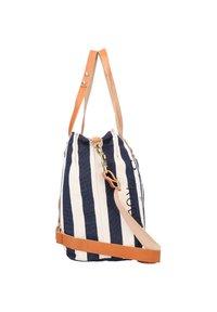 Campomaggi - Handbag - naturale-righe blu-st.nera - 3