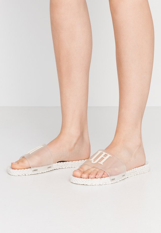 CHEERFUL - Sandály do bazénu - creme