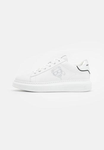 KAPRI PLEXIKONIC LACE - Trainers - white/silver