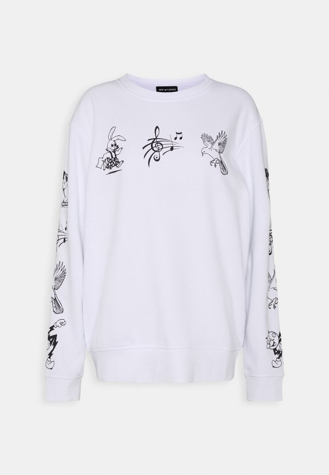 CLASSIC CARTOON  - Sweatshirt - white
