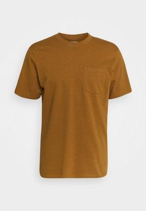 CLARKE TEE UNISEX - Basic T-shirt - bone brown