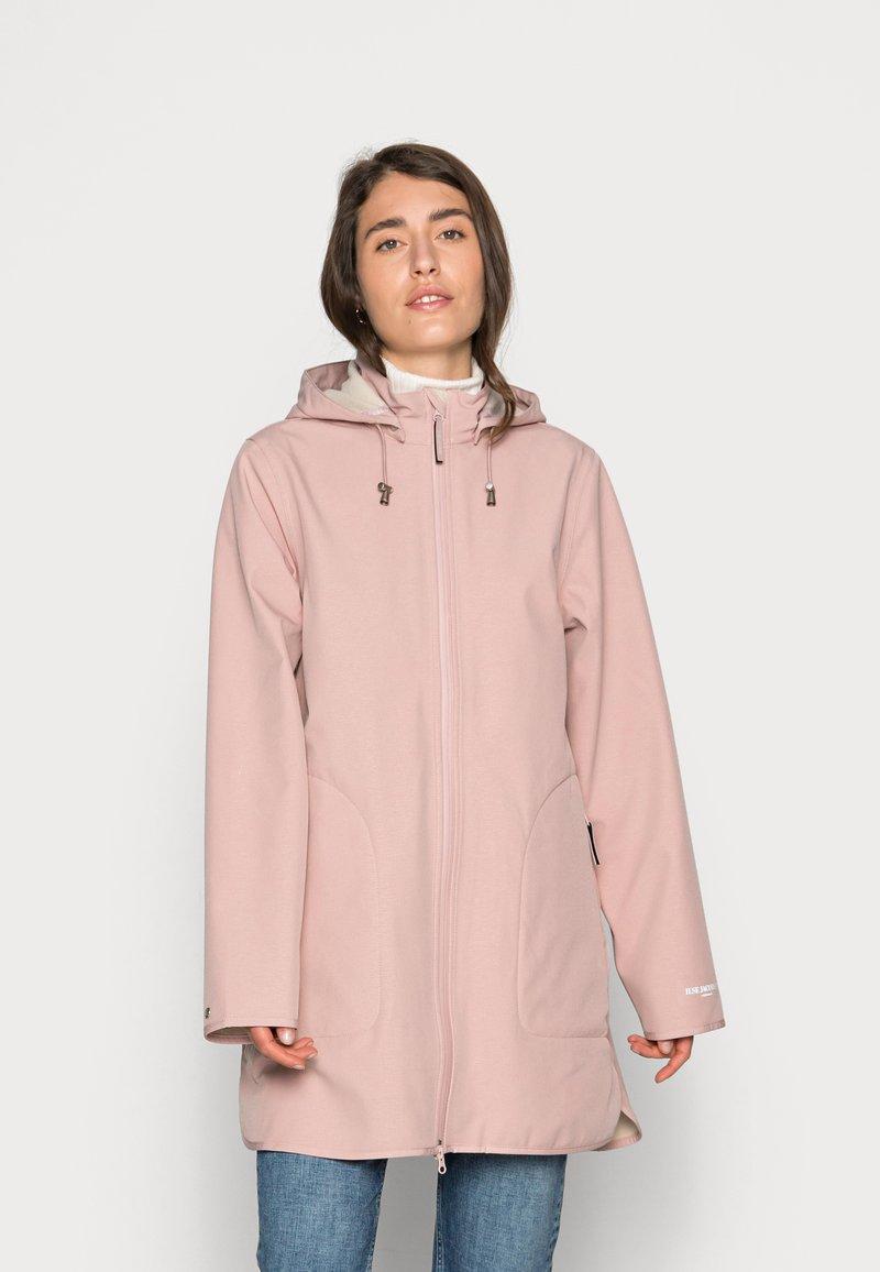 Ilse Jacobsen - RAINCOAT - Waterproof jacket - adobe rose