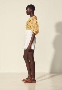 sandro - Shorts - blanc - 1