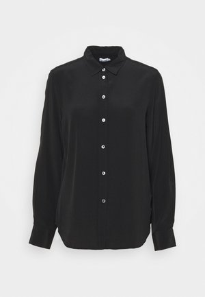 CLASSIC - Button-down blouse - black