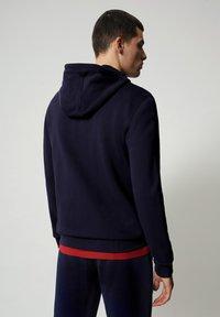 Napapijri - B-ICE FULL ZIP HOOD - Zip-up hoodie - medieval blue - 1