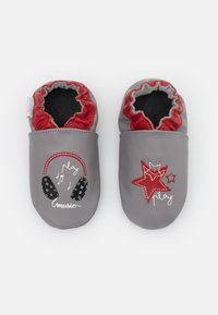 Robeez - MUSIC PLAY - First shoes - gris/rouge - 3