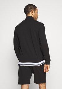 Calvin Klein Underwear - FULL ZIP - Huvtröja med dragkedja - black - 2