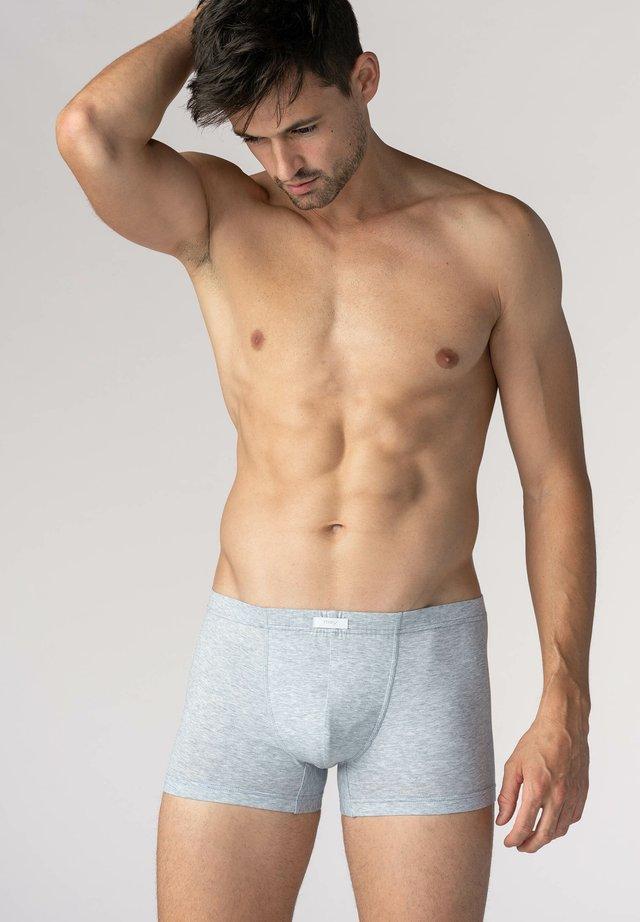Pants - light grey melange