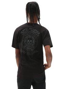 Vans - MN EL SOLE SS - T-shirt z nadrukiem - black - 1