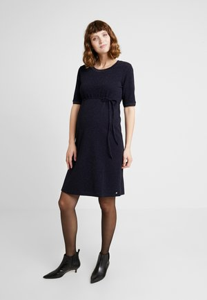 DRESS - Jersey dress - night blue