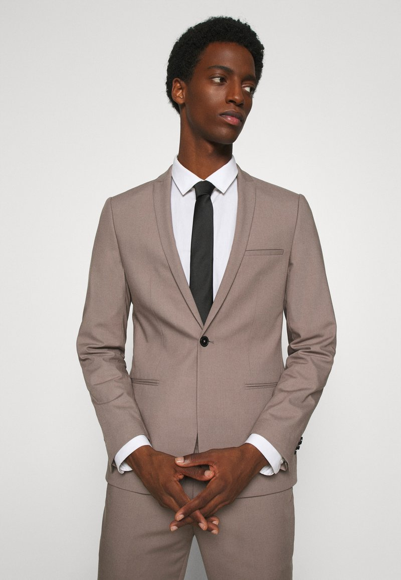 Burton Menswear London - TIES 2 PACK - Tie - navy
