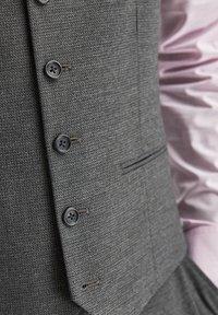 Next - Suit waistcoat - dark grey - 2