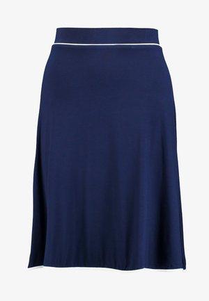 BASIC - A-line skirt - dark blue