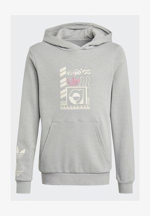 GRAPHIC PRINT HOODIE - Hoodie - grey