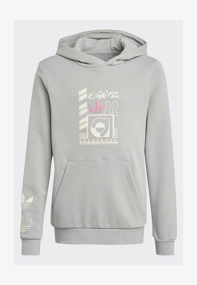 GRAPHIC PRINT HOODIE - Sweat à capuche - grey