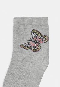 Name it - NKFBETRIA 6 PACK - Socks - silver/pink - 2