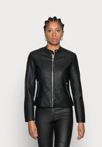 Vila - Faux leather jacket - black - 0