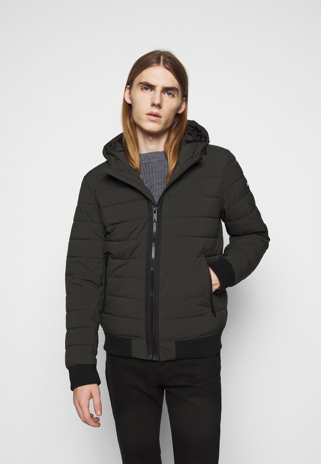 PACKABLE AND PUFFERS - Winter jacket - dark olive