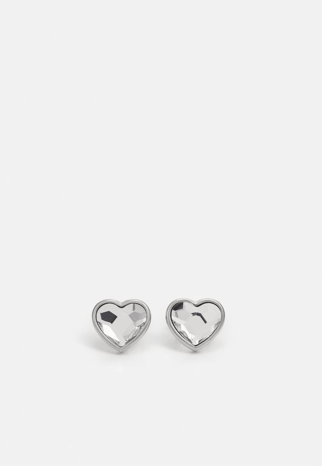 WITH LOVE - Earrings - silver-coloured