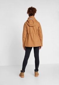 Didriksons - UNN WOMENS JACKET - Outdoor jacket - almond brown - 2