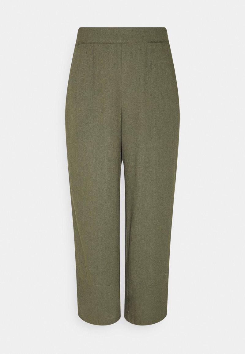 Vero Moda - VMHELENMILO CULOTTE PANT  - Bukse - kalamata