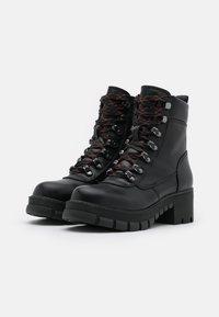 Buffalo - Platform ankle boots - black - 2
