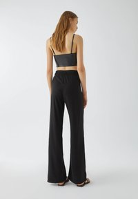 PULL&BEAR - Trousers - black - 2