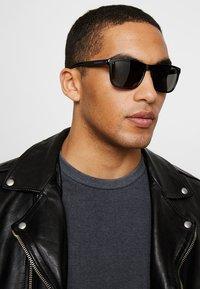 Calvin Klein Jeans - Sunglasses - matte black - 1