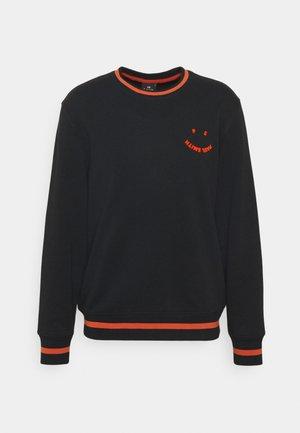 HAPPY UNISEX - Sweatshirt - black