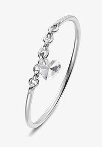QOOQI - MY VALENTINE - Ring - silber - 0