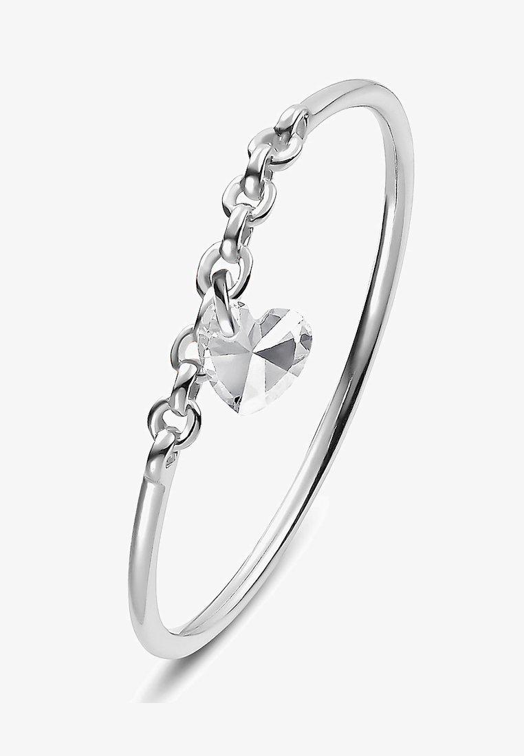 QOOQI - MY VALENTINE - Ring - silber