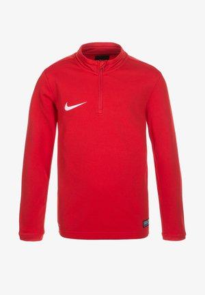 Long sleeved top - university red / white