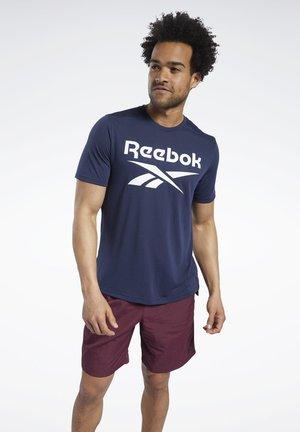 WORKOUT READY SUPREMIUM GRAPHIC TEE - Camiseta estampada - blue
