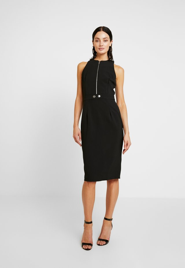 ELISE - Shift dress - black