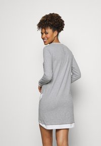 Esprit - ALDERCY NIGHTSHIRT - Nightie - medium grey - 2