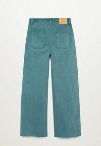 Mango - OLIVIA - Straight leg jeans - smaragdgroen - 1