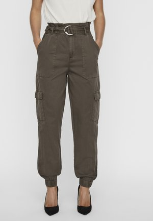 Cargo trousers - bungee cord