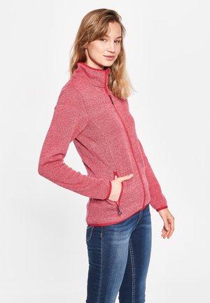STEFFI - Fleece jacket - carmine red