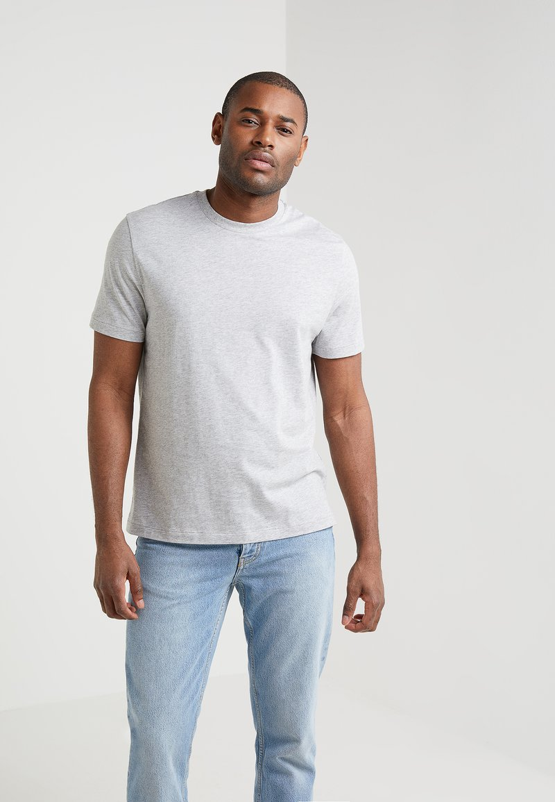 Filippa K - SINGLE CLASSIC TEE - Basic T-shirt - light grey