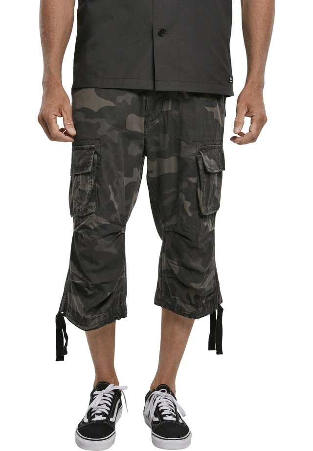 Pantaloni cargo - darkcamo