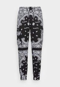 Sixth June - BANDANA PANTS - Cargo trousers - black - 3