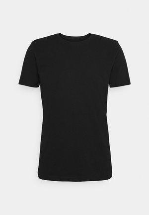 ALDER TEE - T-shirt basique - black jet