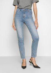 Neuw - MARILYN - Straight leg jeans - preloved blue - 0