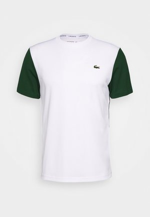 TENNIS - T-shirt med print - white/green